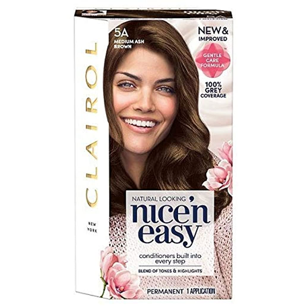 断線通常ヒロイック[Nice'n Easy] Nice'N簡単な図5A中アッシュブラウン - Nice'n Easy 5A Medium Ash Brown [並行輸入品]