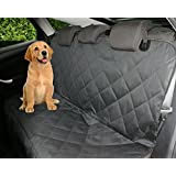 Petastical Best Dog Seat Covers for Cars | Luxury Pet Car Seat Covers for Dogs | Side Flaps | Backseat Hammock | Quilted | Heavy Duty | Waterproof | Non Slip Back | Multipurpose Use Pet Seat Cover