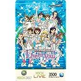 Xbox LIVE 3500 マイクロソフト ポイント カード THE IDOLM@STER 限定バージョン(B)【プリペイドカード】【メーカー生産終了】