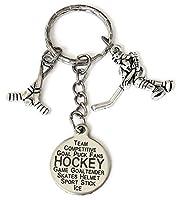 Hockeyキーチェーン、ホッケースティックキーチェーン、ホッケープレーヤーキーチェーン、Hockey Coachキーチェーン、Hockey Coachキーリング、スポーツキーチェーン、ホッケーキーリング