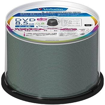 三菱ケミカルメディア Verbatim 1回記録用 DVD+R DL DTR85HP50V1FFP (片面2層/8倍速/50枚) [フラストレーションフリーパッケージ(FFP)]