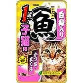 いなばペットフード いなば マルウオパウチ 1歳までの子猫用 60g × 12個入り