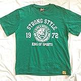 新日本プロレス しまむら コラボ Tシャツ LLサイズ グリーン
