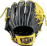 ゼット(ZETT) 硬式/軟式野球 グラブ (グローブ) トレーニンググラブ 右投げ用 ブラック×イエロー(1953) BPGB17910
