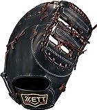 ゼット(ZETT) 硬式野球 ファーストミット プロステイタス 右投げ用 ブラック×ブラウン(1937) 日本製 BPROFM230