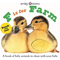 F Is for Farm: Touch-and-feel (ABC Books)
