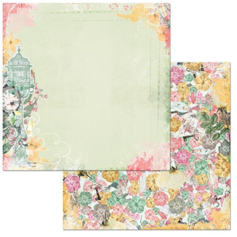 複雑特殊増幅BoBunny (ボバニー) パターンペーパー Sunshine Bliss - 12 x 12 - Cheerful 7310187