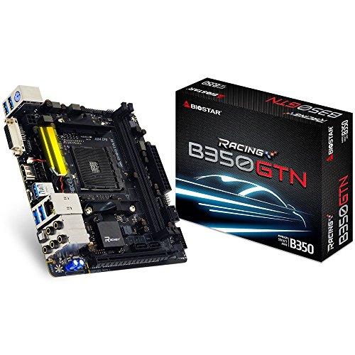 BIOSTAR B350GTN AMD B350チップセット搭載 AMD AM4ソケット Ryzen CPU対応 Mini-ITXマザーボード