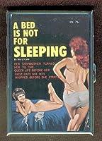 ベッドNot for Sleeping Lesbian IDウォレットorシガレットケースアメリカ製
