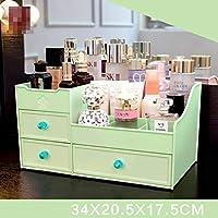 卓上収納ボッ 化粧品収納ボックス,多目的デスクトップオーガナイザー プラスチック オフィス用品 シンプルで美しい ホーム ドレッシングテーブル ベッドルーム 浴室-G