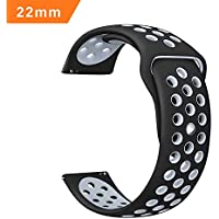 iBazal 22mm Watch Band Quick Release Watch Strap