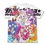 キラキラ☆プリキュアアラモード フルグラフィックTシャツ ホワイト Mサイズ