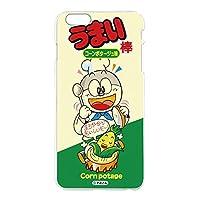 うまい棒 iPhone6 Plus (5.5inch) ケース クリア ハード プリント コーンポタージュ味 (ub-002) スマホケース アイフォンシックス プラス スリム 薄型 カバー 全機種対応 WN-LC973148