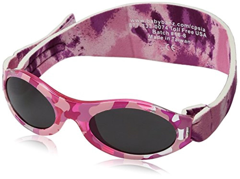 アドベンチャーバンズ ベビー用 UVカットサングラス カモピンク