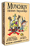 Steve Jackson Games Munchkin Hidden Treasures Card Game [並行輸入品]