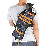 ショルダーホルスター、おもちゃの銃の収納バッグバックホルスター調節可能なベルトを厚くします。
