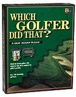 Buffalo Games 252-pieceクイズジグソーパズル: Which Golfer Did That ?By Buffalo Games