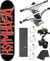 "Deathwish Skateboards Deathsprayスケートボード8"" x 31.5"" Complete Skateboard–7項目のバンドル"