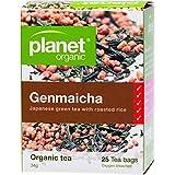 Planet Organic Genmaicha Japanese Green Tea 25 Teabags