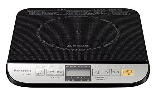 パナソニック IH調理器 ブラック KZ-PH33-K