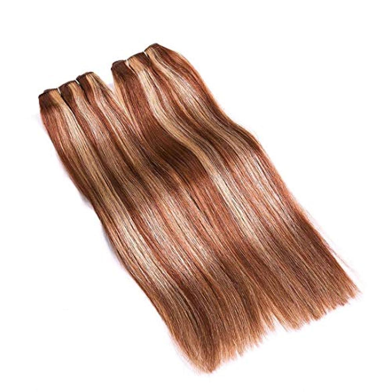 許される路地投票JIANFU 髪カーテン レアルヘア ストレートヘア ミックスカラー ウィッグカーテン レディース ノットなし 染める可能 (サイズ : 24inch)