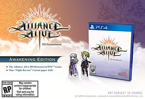 The Alliance Alive HD Remastered (輸入版:北米) - PS4