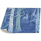 東山 魁 夷 白馬 の 森 キャンバス 装飾 油絵 塗り絵 ホームデコレーション