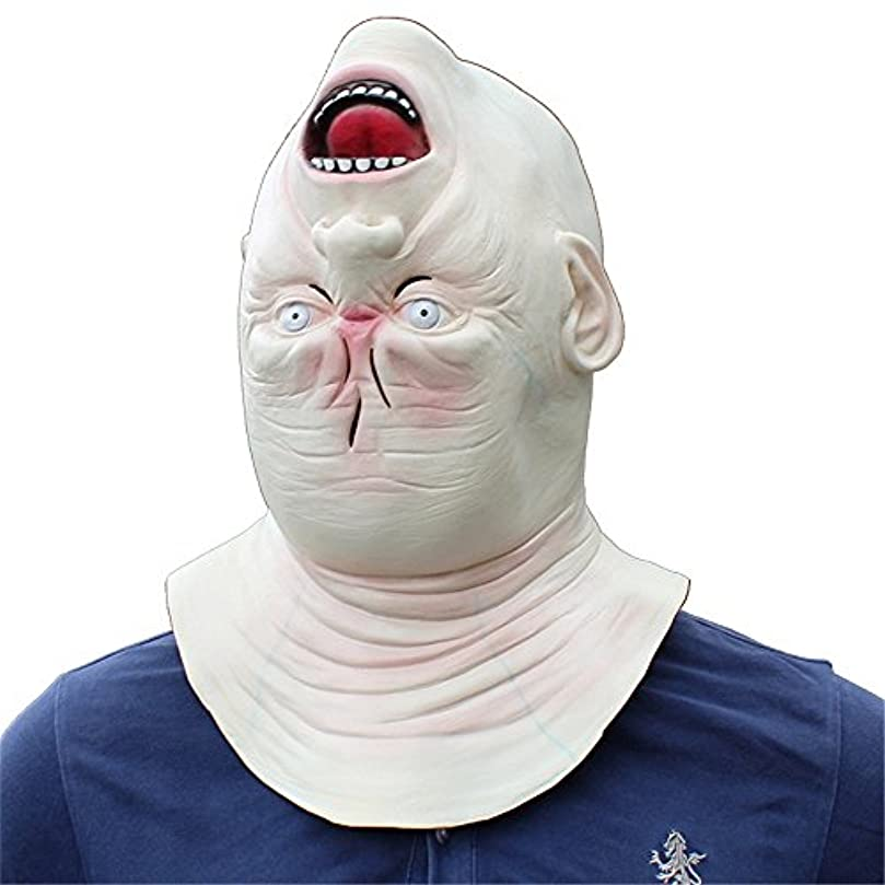 意味のあるノミネート聖人ハロウィンホラーラテックスヘッドマスク仮装パーティーおかしい小道具