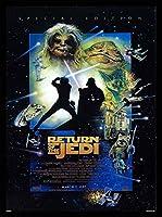 スターウォーズ エピソード ジェダイの帰還 Star Wars、アート映画のポスターフレーム、装飾が施された部屋、最高の贈り物のサイズ18 x 12inch