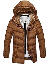 SemiAugust(セミオーガスト)メンズ 中綿 ジャケット アウター カジュアル ダウンジャケット フード付き 中綿コート 冬 防寒着 ファッション ジャンパー