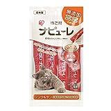 アイリスオーヤマ 猫用おやつ ナピューレ まぐろ 猫 4本