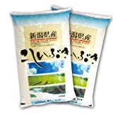 新米 29年産 新潟県産こしいぶき 5kg×2袋 白米 精米 単一銘柄米
