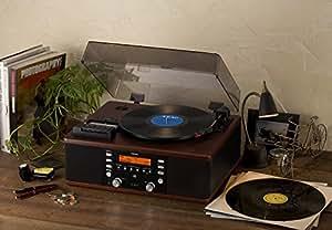 ティアック ターンテーブル/カセットプレーヤー付CDレコーダーTEAC LP-R520