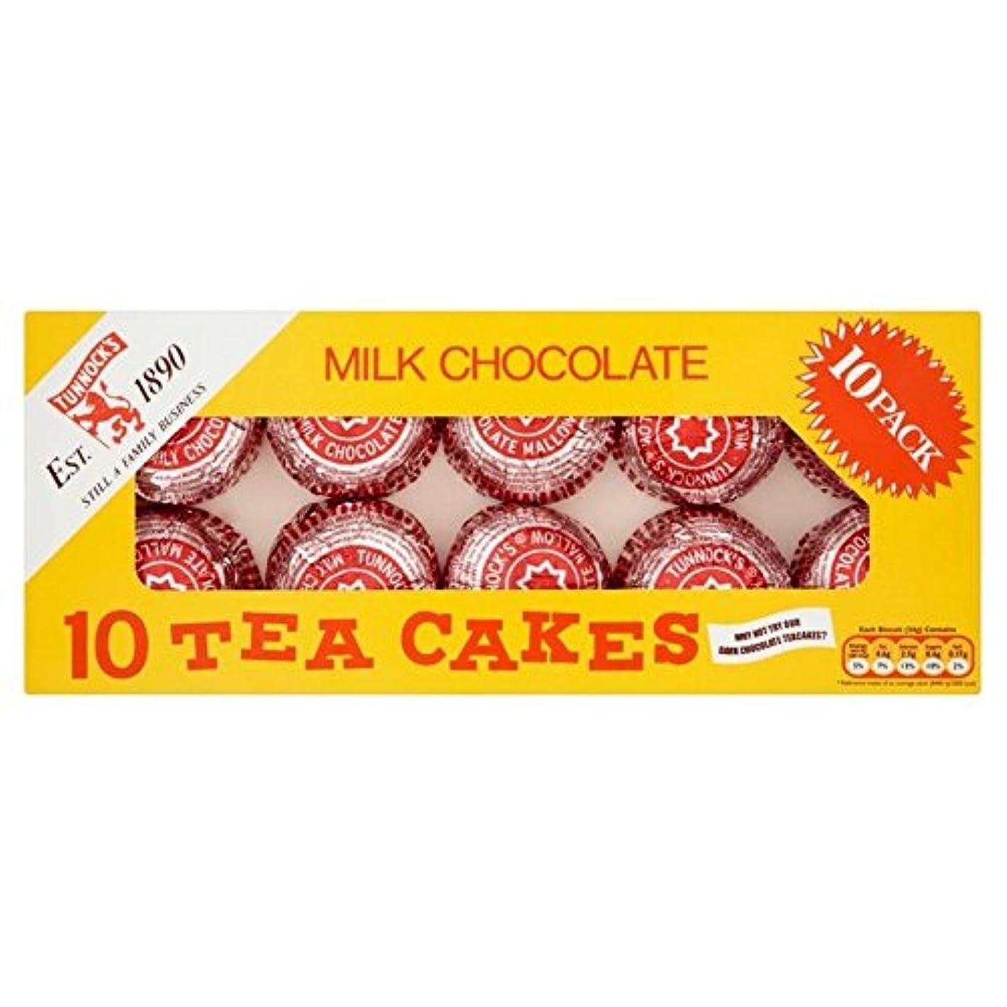 インペリアル受益者熟達した(Thomas Tunnock (トーマス?タノック)) Tunnockのミルクチョコレートティーケーキは、10×24グラムをマルチパック (x6) - Tunnock's Milk Chocolate Tea Cakes Multipack 10 x 24g (Pack of 6) [並行輸入品]