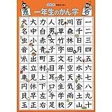 くもんの学習ポスター 1年生のかんじ GP-51