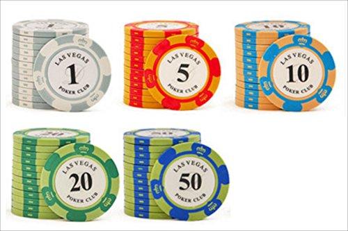 おもちゃの神様 カジノ ボーカーチップ 5種類 100枚 セット 収納ケース&収納袋付属! ケースごと収納できる手持ち紐付きの袋がついているので、持ち運びや収納が簡単です!