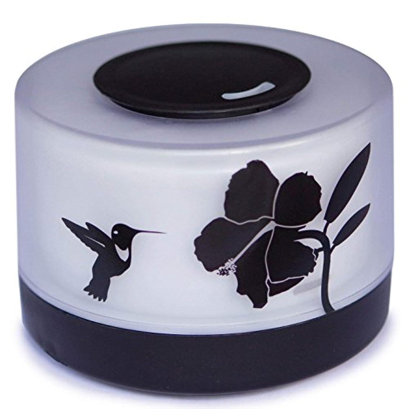 にぎやか適合キャプテンブライ【Amour@Home】超音波式 アロマディフューザー 大容量 加湿器 500ml (ハチドリ)