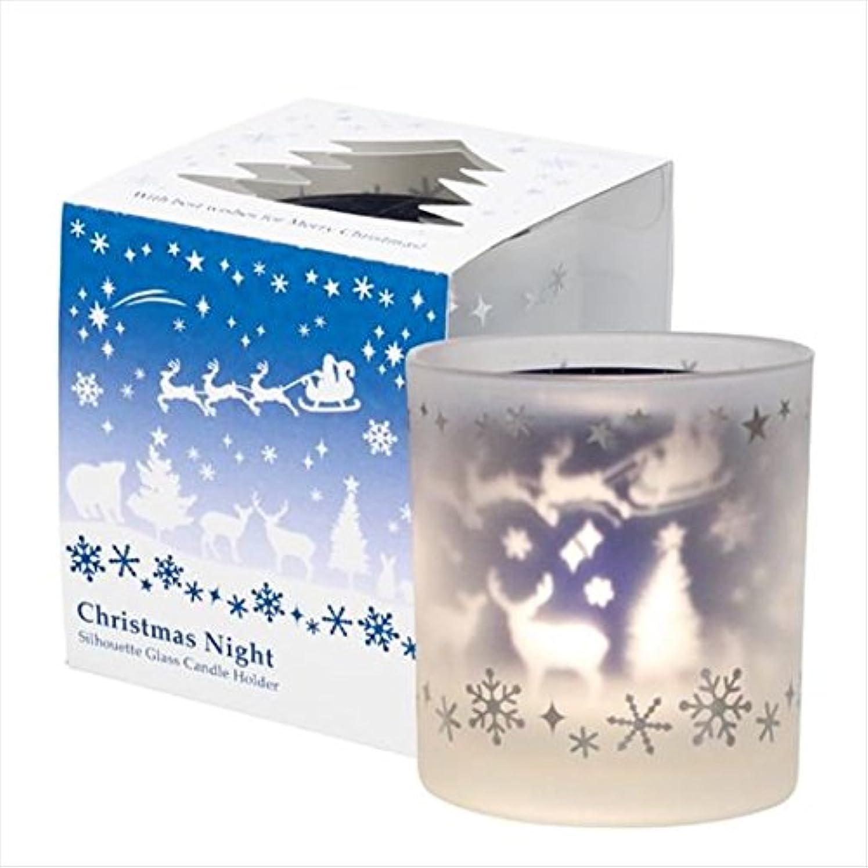 揺れる悲しみせがむkameyama candle(カメヤマキャンドル) クリスマスナイト(J1710020)