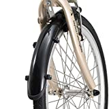 DAYTONA Pottering Bike(デイトナ ポタリングバイク) DE01専用フェンダーセット ブラック 51774