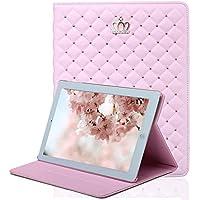 iPad 9.7フィットケース、elecfanJ スタンド機能付き 全面保護カバー 可愛い iPad 2/3/4 9.7ケース