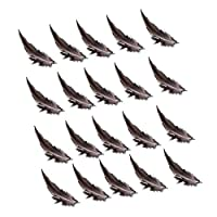 約20pcs 染めキジ羽根  装飾用の羽根 8 - 11cm DIY ジュエリー/工芸品/ヘアアクセサリー