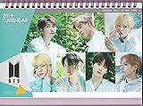 防弾少年団 BTS バンタン【卓上 カレンダー(写真集 デスクカレンダー) 2019~2020年(2年分)】+ステッカー(#A)
