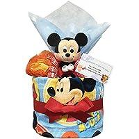 おむつケーキ ディズニー ミッキー 出産祝い 男の子 1501(1歳のお誕生日プレゼント)