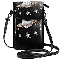 Gottoabag 財布 携帯ケース ワンショルダーバッグ ショルダーバッグ 宇宙 回転 宇宙人 軽量 斜めがけ 小さめ 斜め掛けバッグ ポケット付きバッグ 通勤 通学
