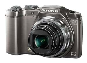 OLYMPUS デジタルカメラ SZ-31マルチレコーディング シルバー 1600万画素 裏面照射型CMOS 光学24倍ズーム DUAL IS ハイビジョンムービー 3.0型タッチパネルLCD 広角25mm 3Dフォト機能 SZ-31MR SLV