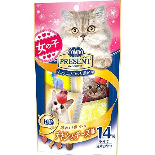 日本ペットフード コンボPおやつ女の子チキンチーズ 42g  $