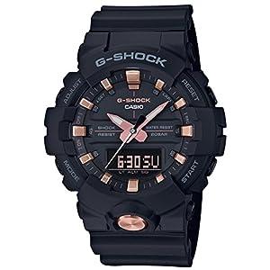 [カシオ]CASIO 腕時計 G-SHOCK ジーショック ブラック&ゴールド GA-810B-1A4JF メンズ
