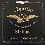 AQUILA AQC-CLW 149U Carbonblack Series コンサートウクレレ弦 LOW-G 4弦巻線