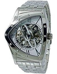 [コグ]COGU 流通限定モデル フルスケルトン 自動巻き 腕時計 BNT-WH