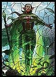 マジック:ザ・ギャザリング プレイヤーズカードスリーブ 『灯争大戦』ステンドグラス 《世界を揺るがす者、ニッサ》 (MTGS-115)